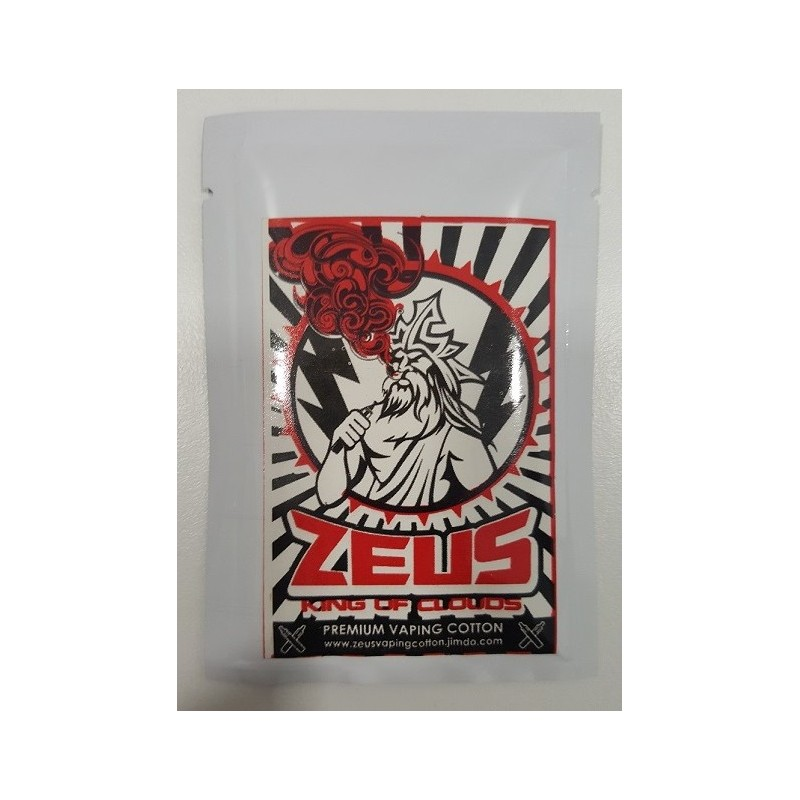Zeus Vaping Coton - King of Clouds - Red Rebel SMALL