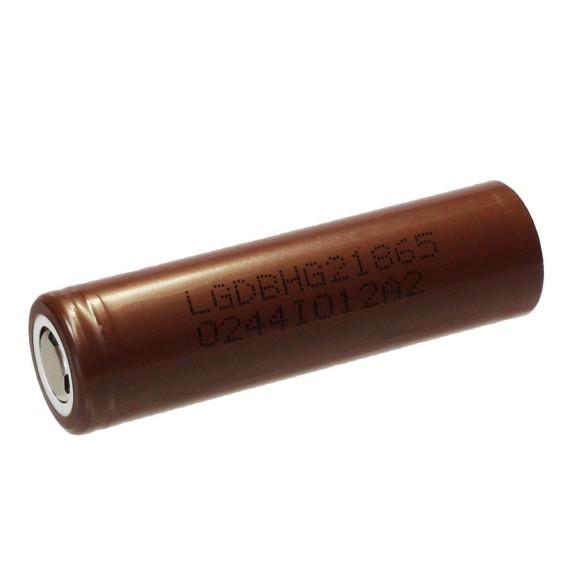 Batteria LG 18650 IMRda 3000mAhcon scarica continua di 20A e pulsata di 35ABatteria molto versatile comparabile alla Sony VTC6, seppur leggermente inferiore. In modalita' singola batteria puo'spingere laBig Batteryofino a60 watt.Batteria IMR con celle di buona qualita' per punta ad una maggiore durata.E' possibile confrontare le batterie grazie altest di mooch 18650