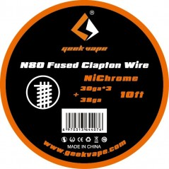 GEEKVAPE - N80 FUSED CLAPTON - 10FT (3mt)