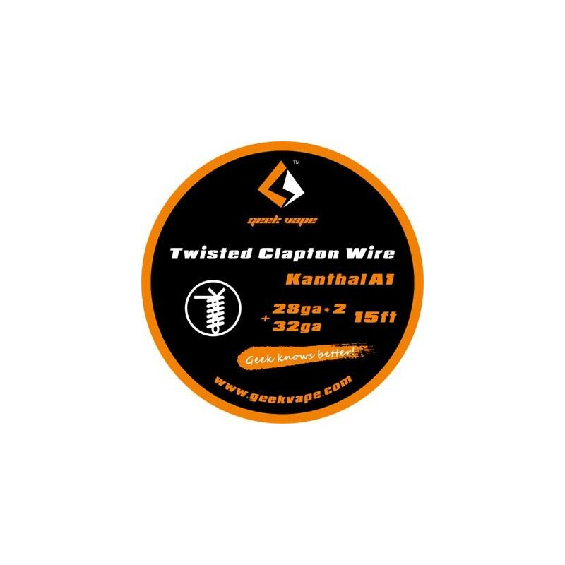 GEEKVAPE - TWISTED CLAPTON KANTHAL A1