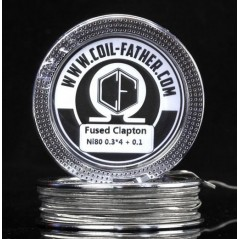 COIL FATHER - NI80 - FUSED CLAPTON - 15FT (5mt)