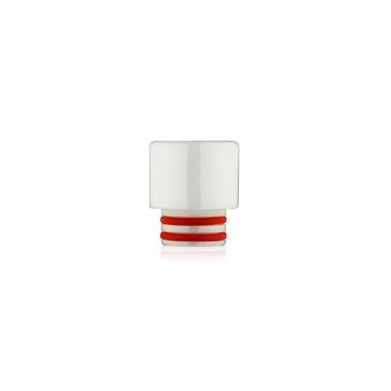 DRIP TIP 510 in ZirconiaDrip tip con attacco 510 in Zirconia in varie colorazioniIl Drip tip o boccaglio e'la parte dell'atomizzatorecheviene messoin bocca.E' possibile cambiare il drip tip alle proprie sigarette elettroniche, siaper cambiarne il look, sia per un miglior confort o semplicemente per differenziare le proprie sigarette elettroniche. Drip Tip