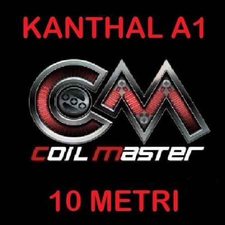 FILO - KANTHAL A1 - VARIE MISURE - 30FT (10mt) - COIL MASTER