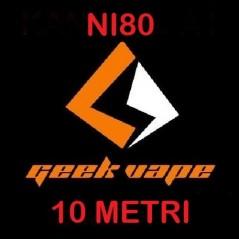 FILO - NI80 - VARIE MISURE - 30FT(10mt) - GEEKVAPE