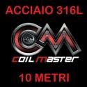 COIL MASTER FILO ACCIAIO 316L - 10MT