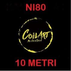 FILO - NI80 - VARIE MISURE - 30FT(10mt) - CoilART