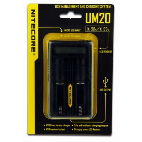 NITECORE INTELLICHARGER UM20 LCD