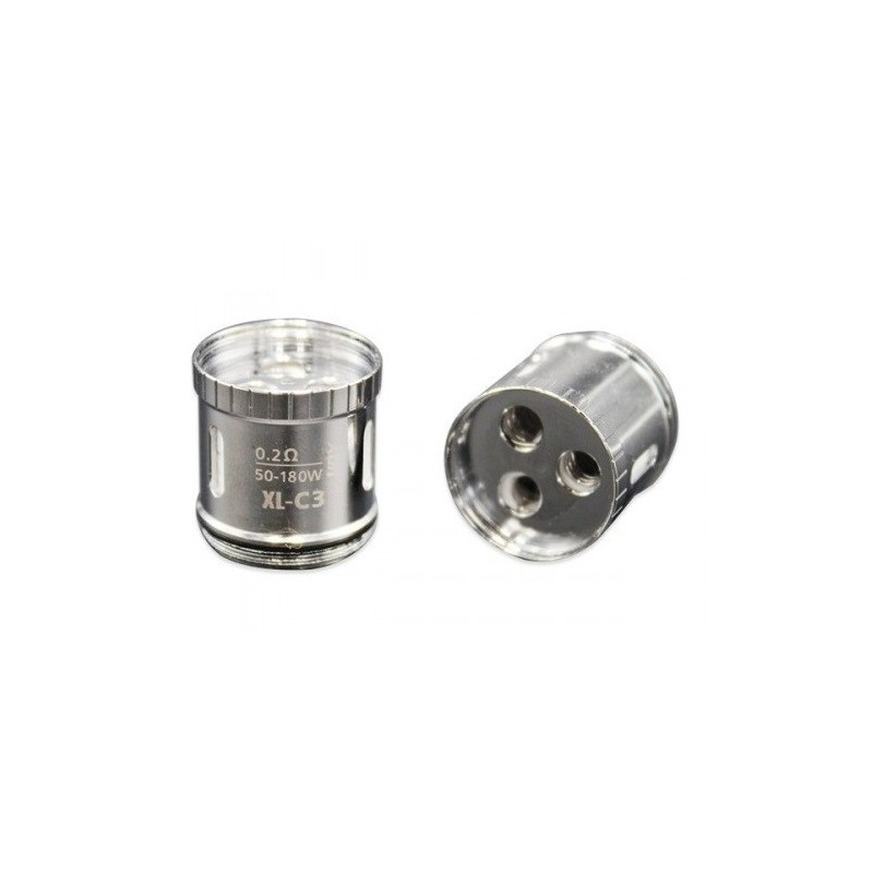 3PZ PRE-MADE XL-C3 GREEN LIGHT-UP CHIP COIL PER LIMITLESS XL - 0,2 OHM - IJOY
