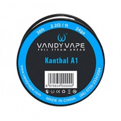 FILO - KANTHAL A1 - 24 GA - 30FT (10mt) - VANDY-VAPE
