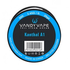 FILO - KANTHAL A1 - 26 GA - 30FT (10mt) - VANDY-VAPE