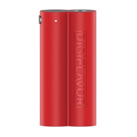 DigiflavorLunar Box ModMod VV a doppiabatteria18650(non incluse) molto leggera in ABSe resistente con3modalita': 3,2 Volt (led rosso), 3,4 Volt (Blu) e Bypass (verde).Dotata di un chipset AS che la rende molto stabile e veloce.Recensione:unamod leggera che grazie alle 2 batterie e' molto duratura,consigliata per lo svapo quotidiano.. oltre cheunprezzo molto economico. BATTERY BOX