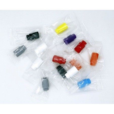 SILICONE DRIP TIP 510 - MIX COLOR - 1PZ